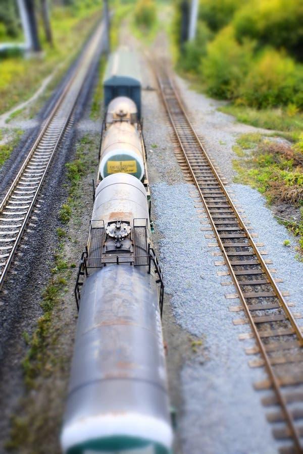 Confiabilidad rápida segura de la entrega de la carga ferroviaria del tren foto de archivo