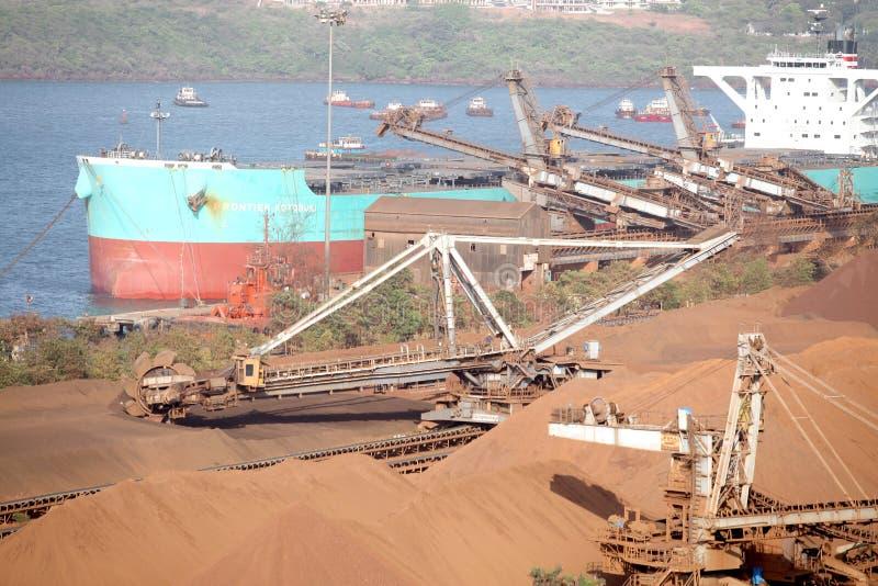 Confiança do porto de Mormugao fotografia de stock