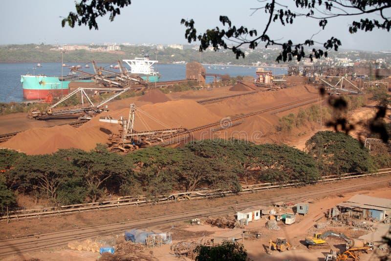 Confiança do porto de Mormugao imagens de stock royalty free