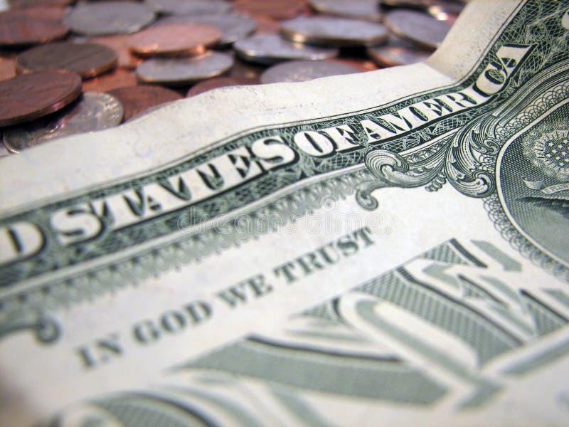 Confiance Américaine Images stock