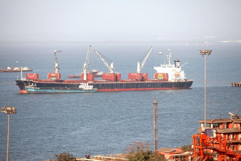 Confianza del puerto de Mormugao imagen de archivo