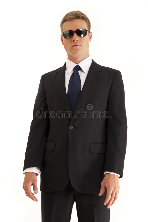 Download Confide Young Businessman With Sunglasses Stock Image - Image: 15622477