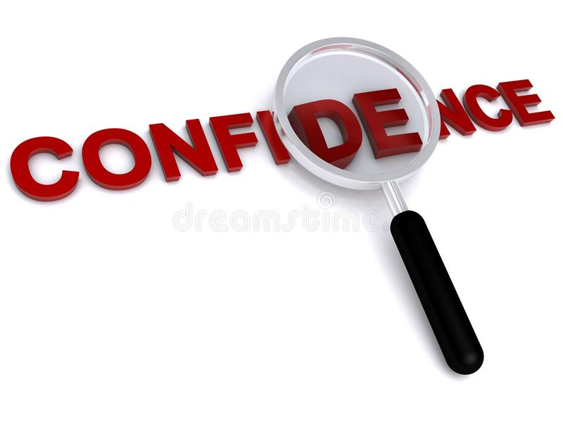 Download Confidence stock illustration. Image of isolated, isolation - 10702101
