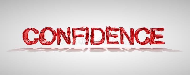 Download Confidence Word Destruction Stock Illustration - Image: 16835098