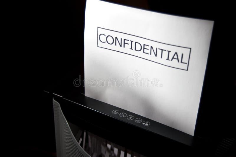 Confidencial fotos de stock royalty free