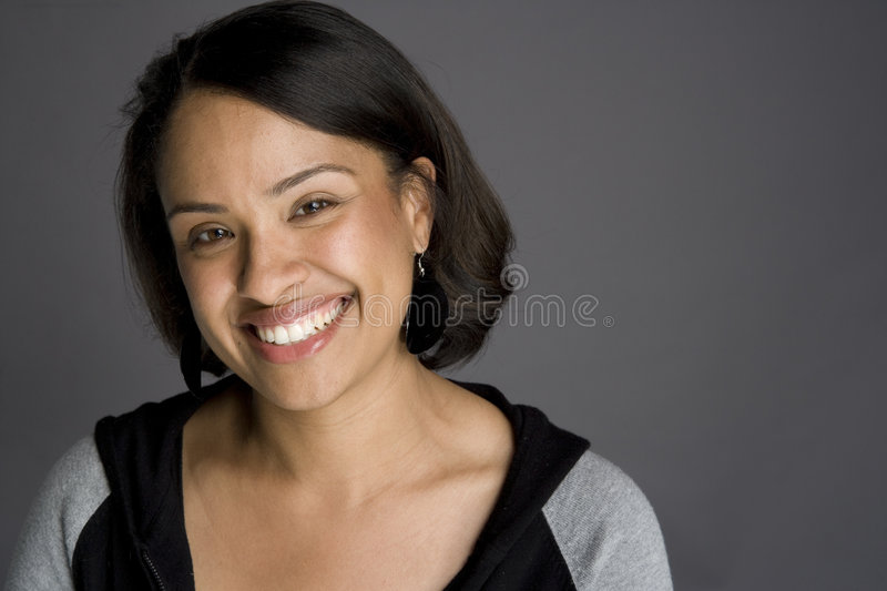 Confident African American Woman royalty free stock image