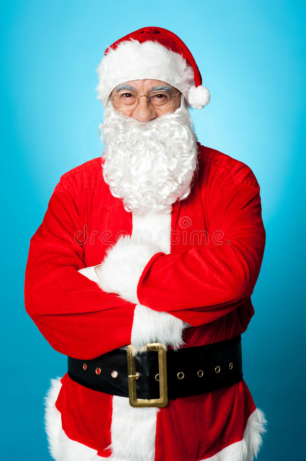 Download Confident Aged Male In Santa Costume Stock Photo - Image of kind, christmas: 27837074