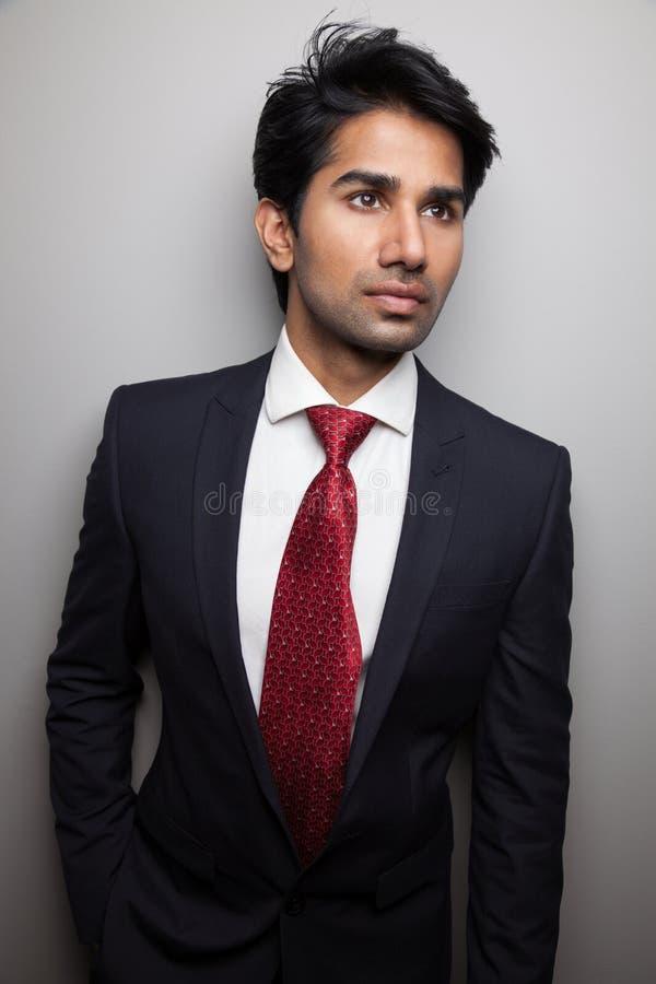 Confident Asian businessman stock photos