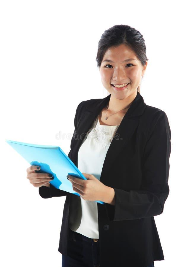 Confident Asian Student stock photo