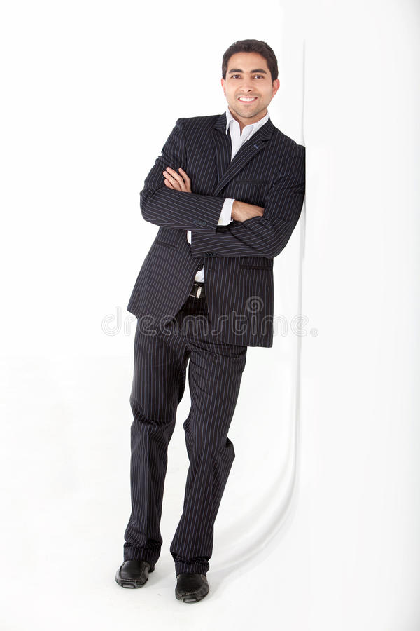 Download Confident business man stock image. Image of adult, against - 15521967