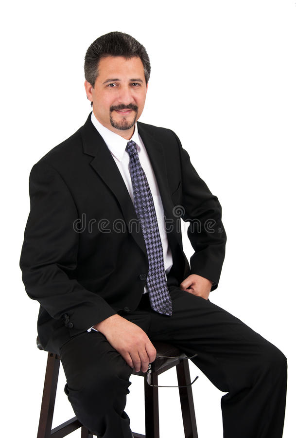 Download Confident Business Man stock photo. Image of dark, thinking - 28868096