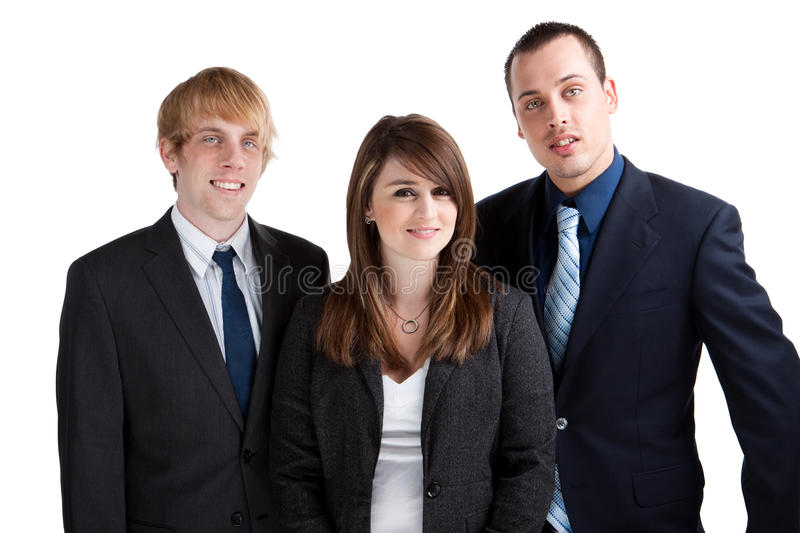 Download Confident business team stock photo. Image of focus, front - 14237436