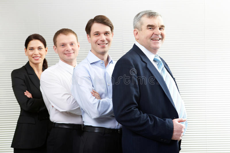 Download Confident business team stock photo. Image of corporate - 18591642
