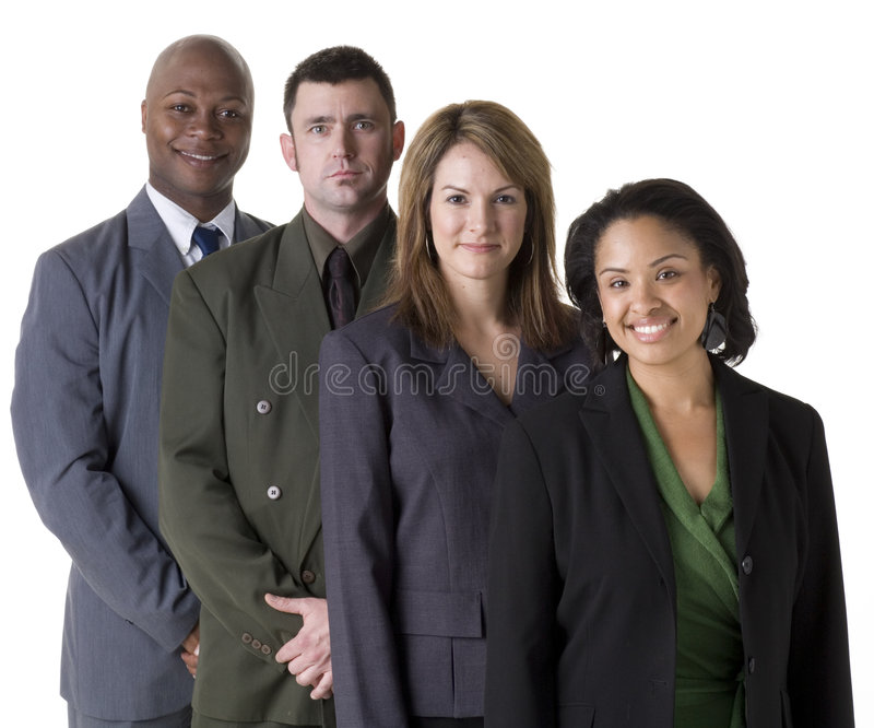 Download Confident Business Team stock photo. Image of deal, occupation - 5655066