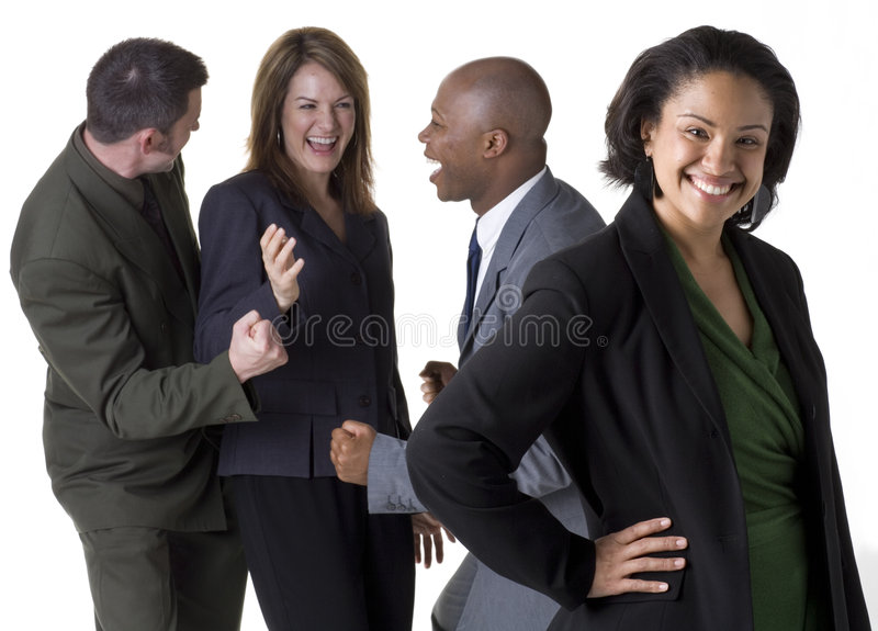 Download Confident Business Team Royalty Free Stock Photography - Image: 5655087