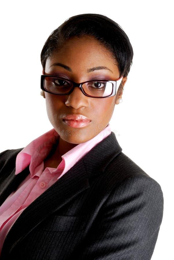 Confident business woman stock photos