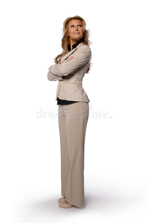 Download Confident Business Woman Standing Royalty Free Stock Photos - Image: 28411508