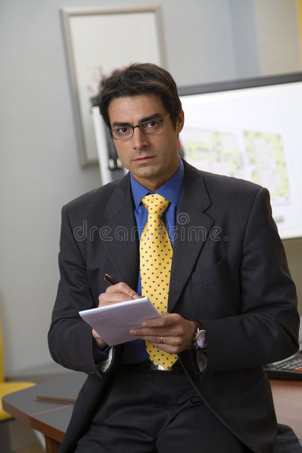 Confident Businessman Stock Images