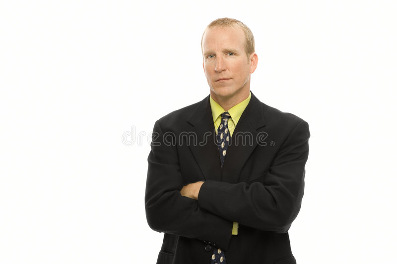 Download Confident businessman stock photo. Image of people, black - 2386278