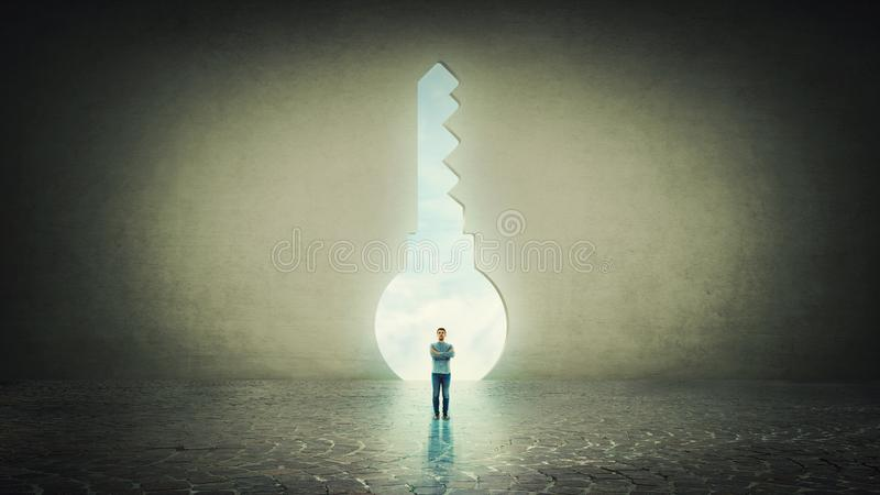 Keyhole royalty free stock image