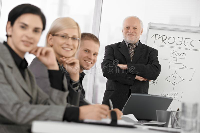 Download Confident Businesspeople At Training Stock Images - Image: 18489884