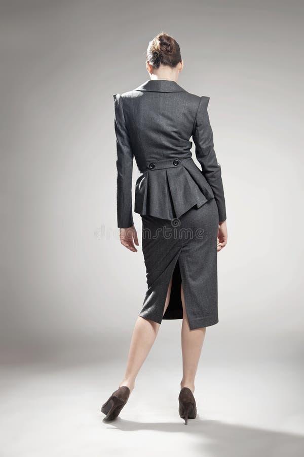 Confident businesswoman. Fine art photo of a confident businesswoman royalty free stock images