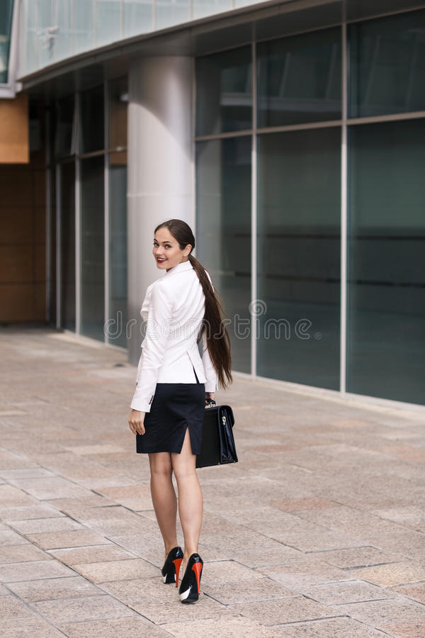 Confident businesswoman royalty free stock images