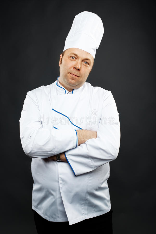 Free Confident Chef Stock Photography - 22054522