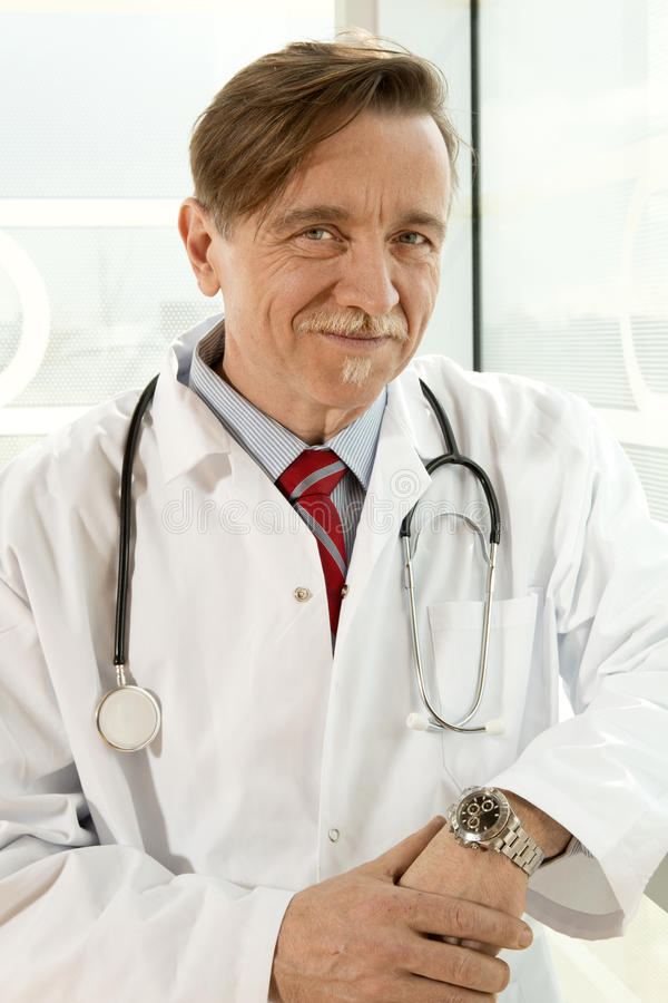 Download Confident doctor stock image. Image of experience, overall - 19574079