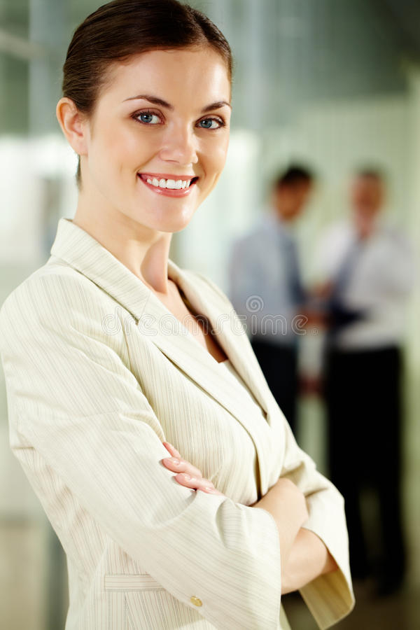 Download Confident employer stock photo. Image of environment - 25941258