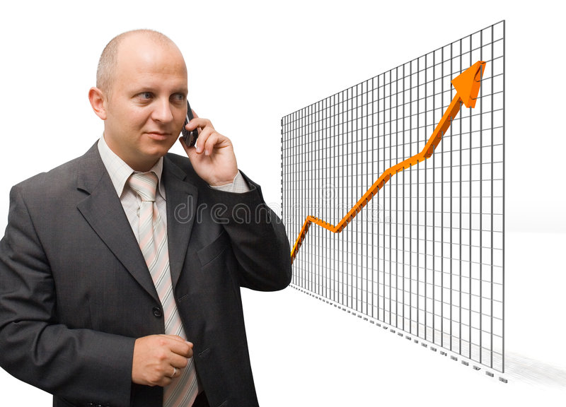 Confident Growth stock photography