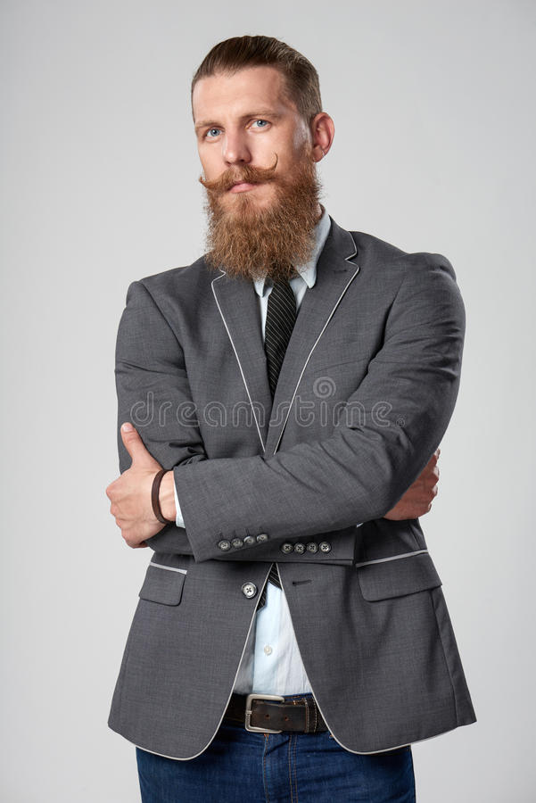 Free Confident Hipster Business Man Royalty Free Stock Photos - 84734198