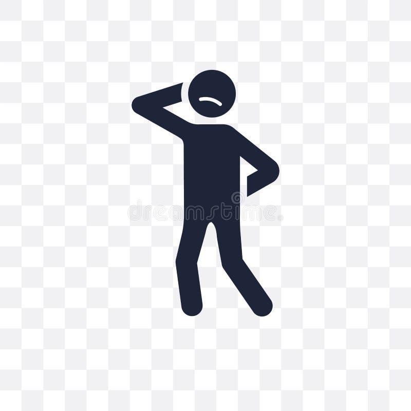confident human transparent icon. confident human symbol design royalty free illustration