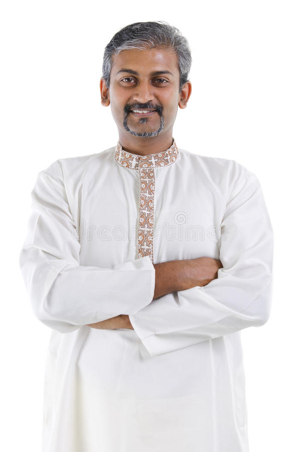 Free Confident Indian Man Royalty Free Stock Photography - 25285917