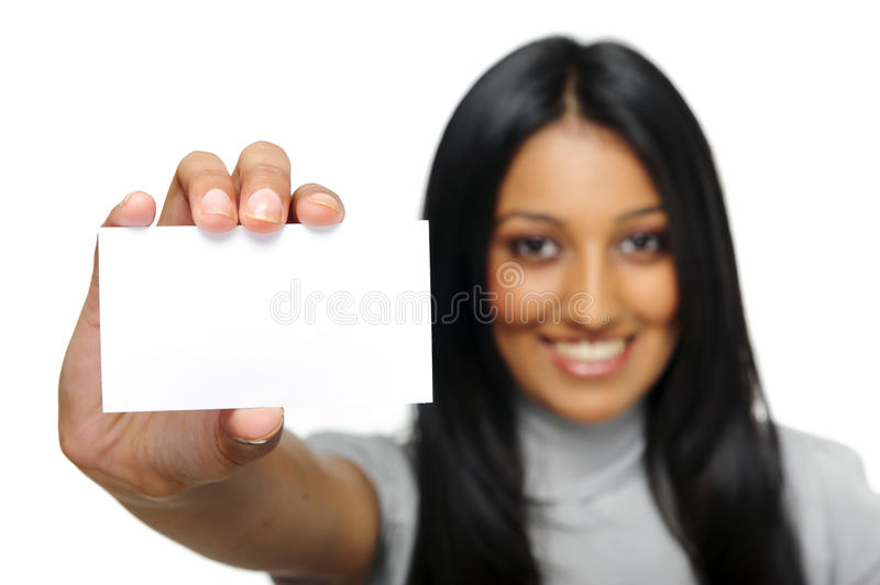 Confident indian woman royalty free stock photo