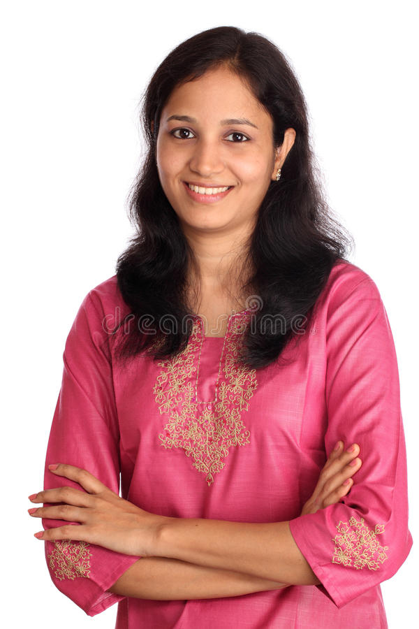 Confident Indian woman royalty free stock photos