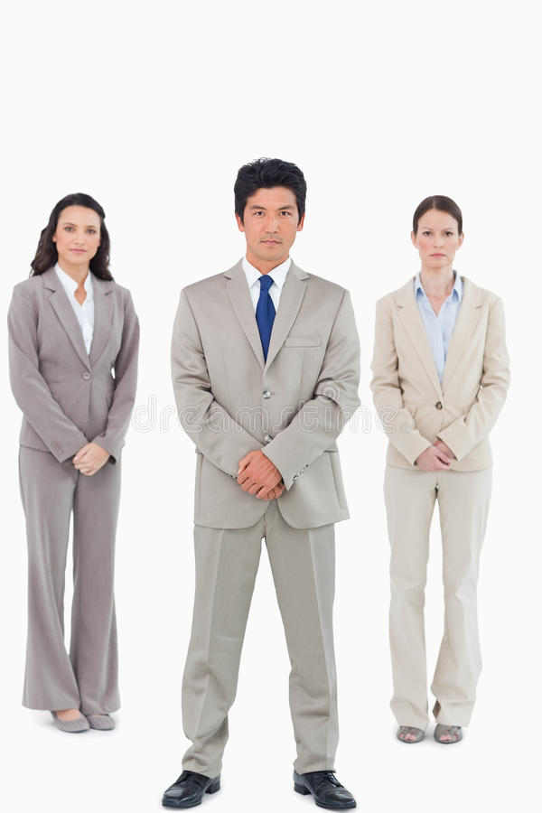 Download Confident Looking Salesteam Stock Image - Image of businesswoman, team: 22861725