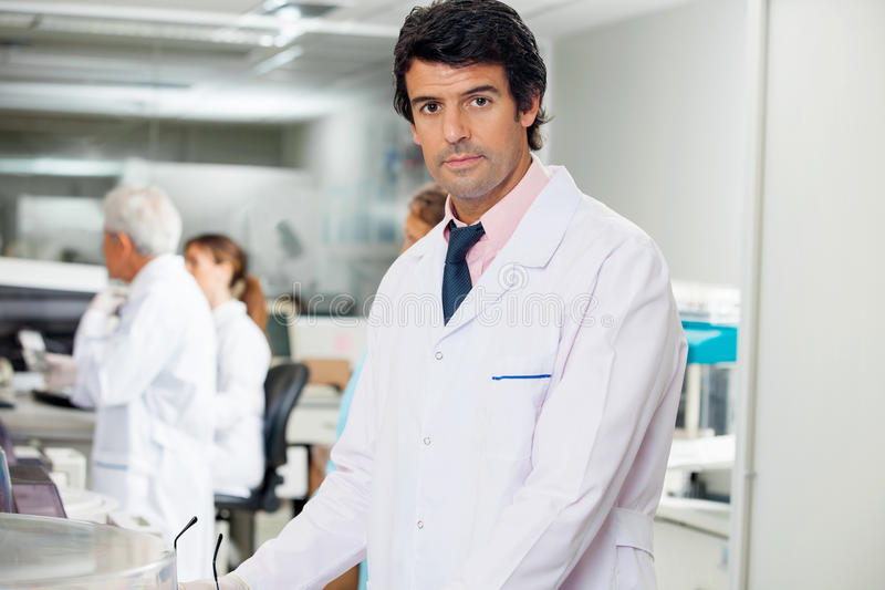 Download Confident Male Technician stock image. Image of hospital - 37137091