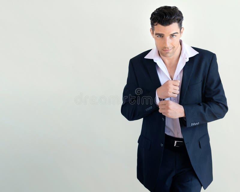 Confident man royalty free stock photos