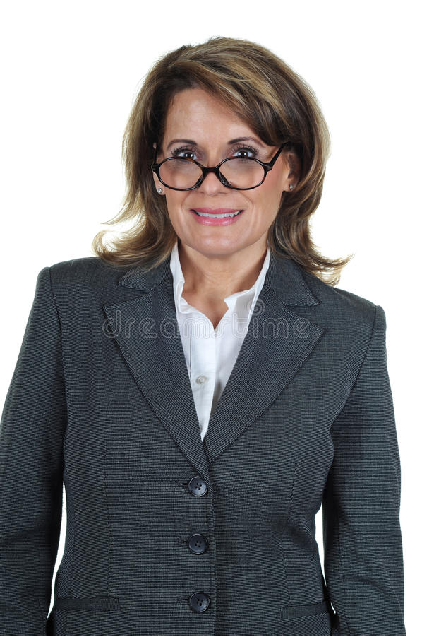 Confident Mature Business Woman stock photography