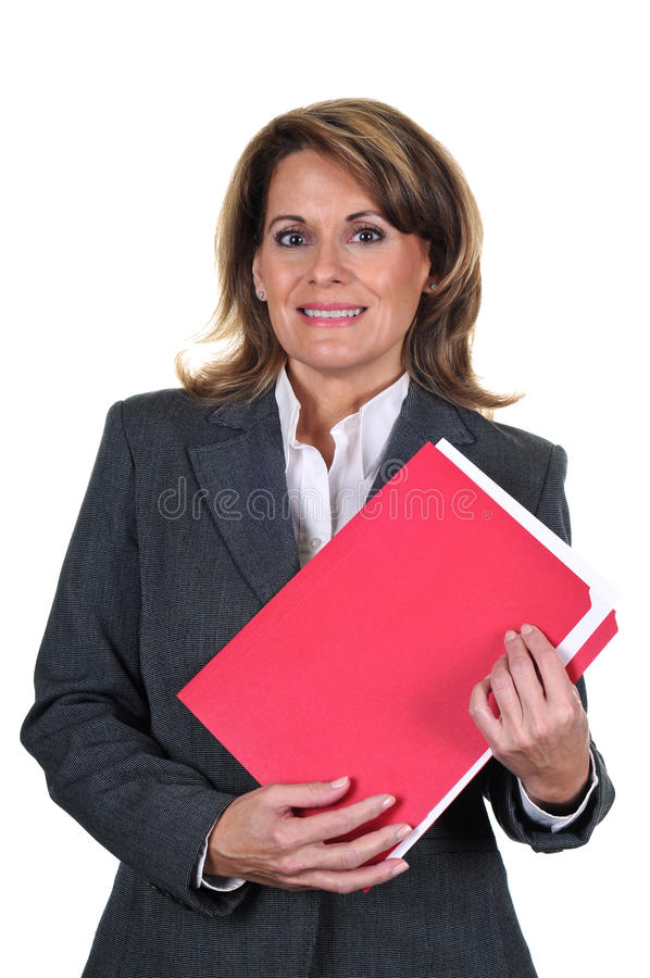 Download Confident Mature Business Woman Stock Photo - Image: 18531410