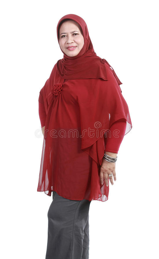 Download Confident Muslim woman stock photo. Image of ethnic, female - 22429070