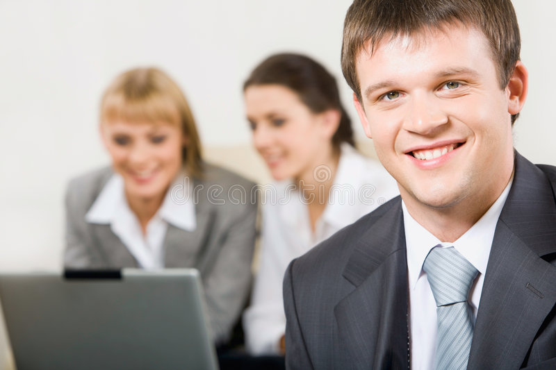 Confident professional stock photography