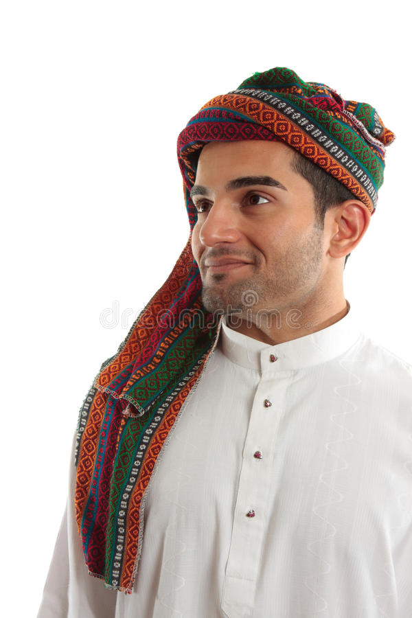 Download Confident, Smiling Ethnic Arab Man Stock Photo - Image: 14557144