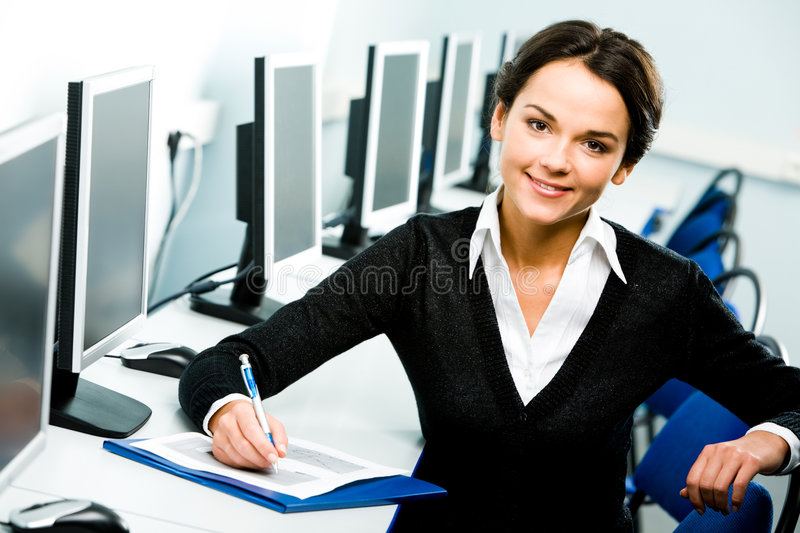 Confident student royalty free stock photography
