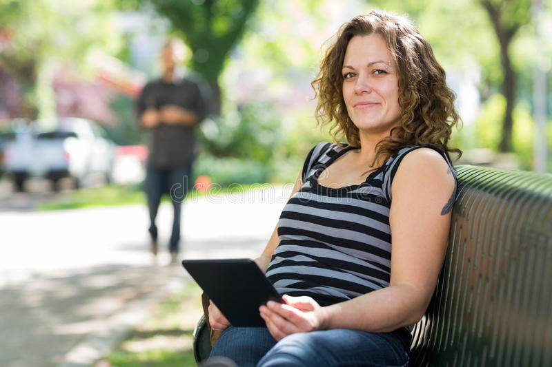 Confident Student Relaxing At University Campus royalty free stock images