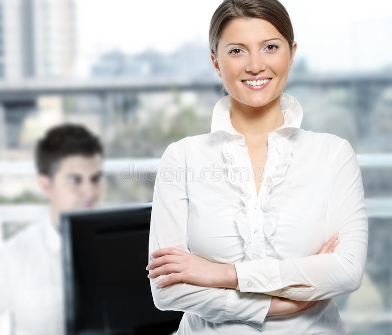 Download Confident And Successful Businesswoman Stock Photo - Image of beautiful, manager: 18677802