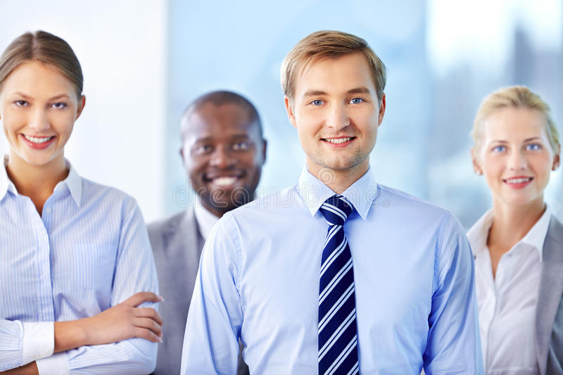 Confident Team Royalty Free Stock Images