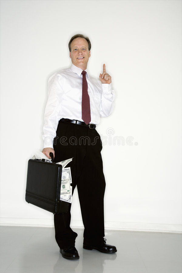 Download Confident Wealthy Businessman Stock Photo - Image: 5046962