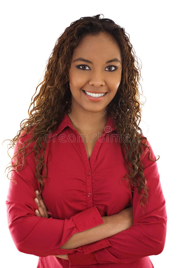 Confident woman stock photography